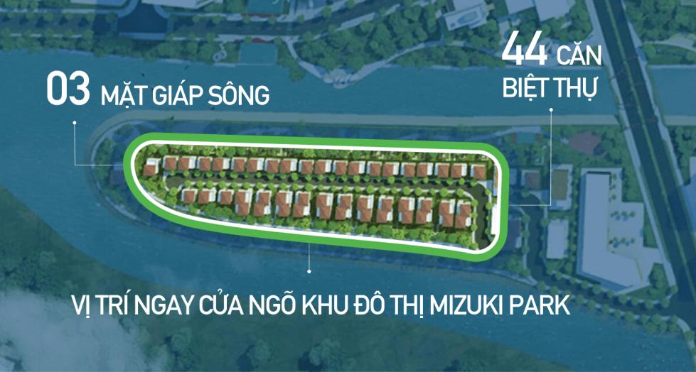 Biệt thự Valora Island Mizuki Park