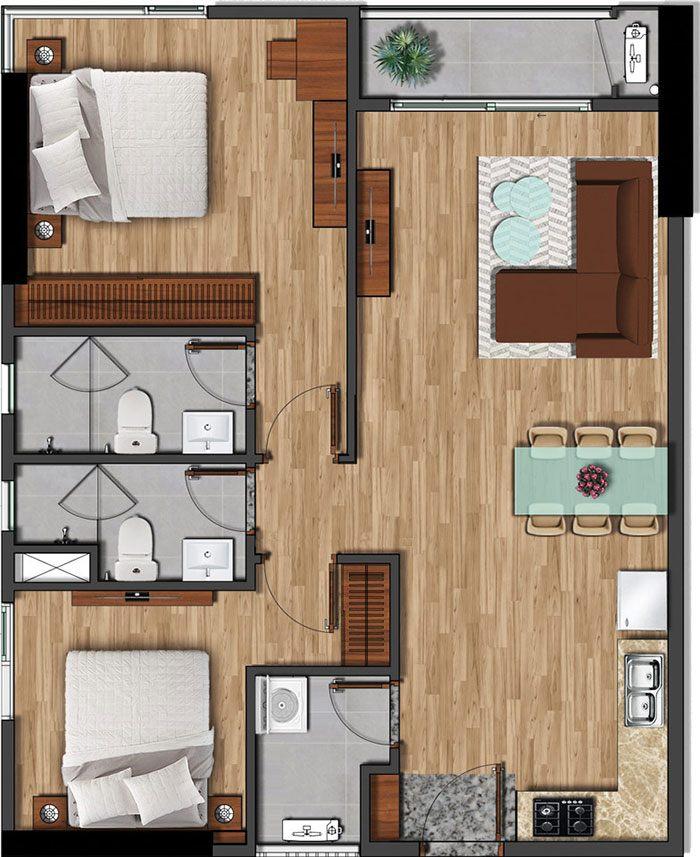 79 m2 akari