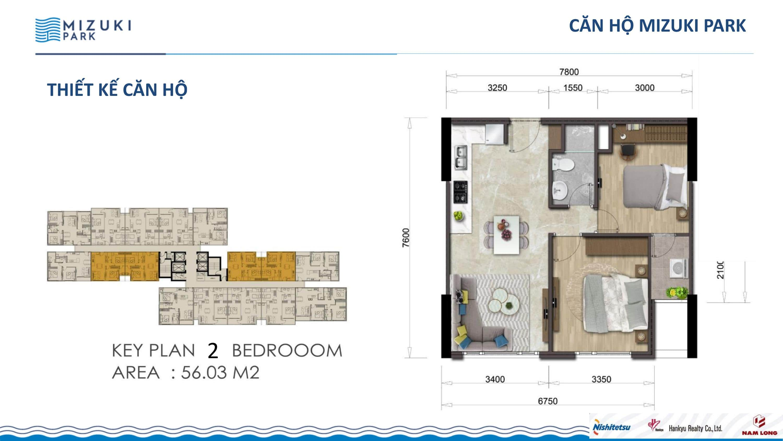 56 m2 MIZUKI PARK