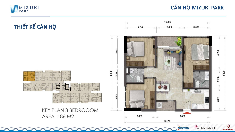 86 m2 MIZUKI PARK