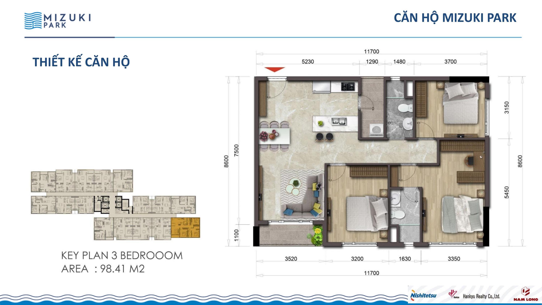 98 m2 MIZUKI PARK